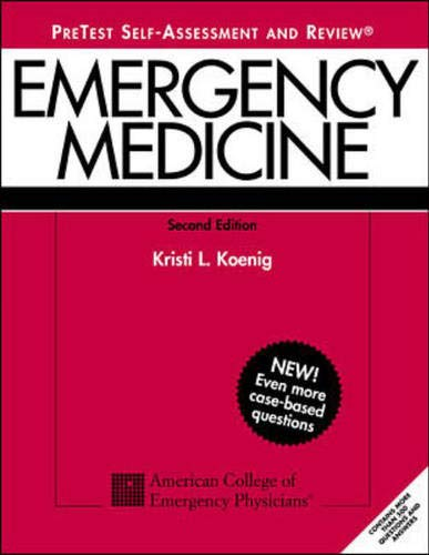 9780071351447: Emergency Medicine PreTest : Self Assessment and Review