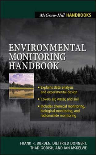 Environmental Monitoring Handbook: Burden, Frank R, McKelvie, Ian, Forstner, Ulrich, Guenther, Alex