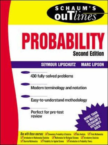 9780071352031: Schaum's Outline of Theory and Problems of Probability (2nd Edition)