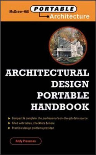 9780071352147: Architectural Design Portable Handbook