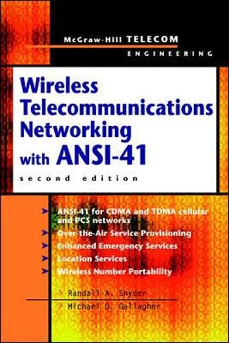 9780071352314: Wireless Telecommunications Networking with ANSI-41