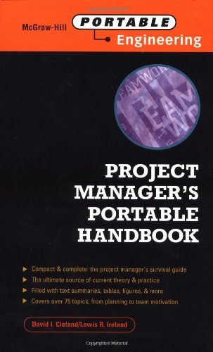 9780071352635: Project Manager's Portable Handbook