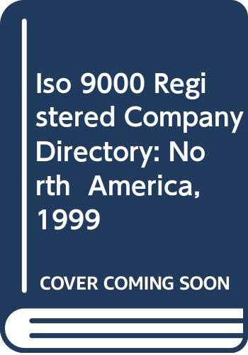 9780071353137: Iso 9000 Registered Company Directory: North  America, 1999