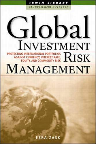 9780071353151: Global Investment Risk Management