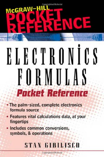 9780071353168: Electronics Formulas Pocket Reference (Pocket References (McGraw-Hill))