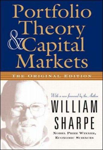 9780071353205: Portfolio Theory and Capital Markets