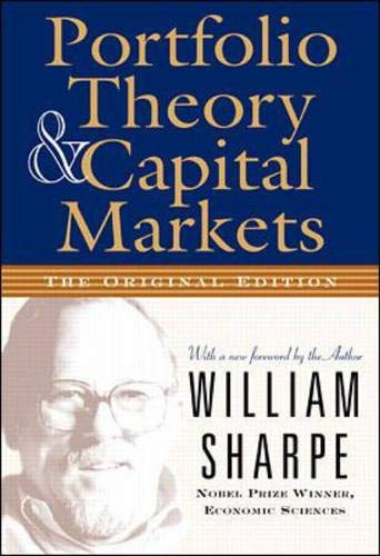 9780071353205: Portfolio Theory and Capital Markets: The Original Edition