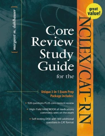 9780071353397: NCLEX/CAT-RN Core Review Study Guide