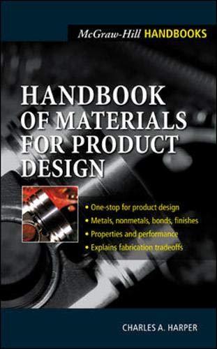 9780071354066: Handbook of Materials for Product Design (Mcgraw-Hill Handbooks)