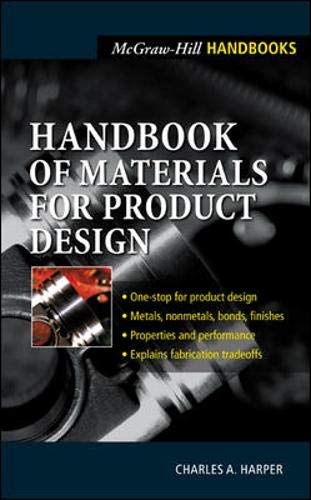 9780071354066: Handbook of Materials for Product Design