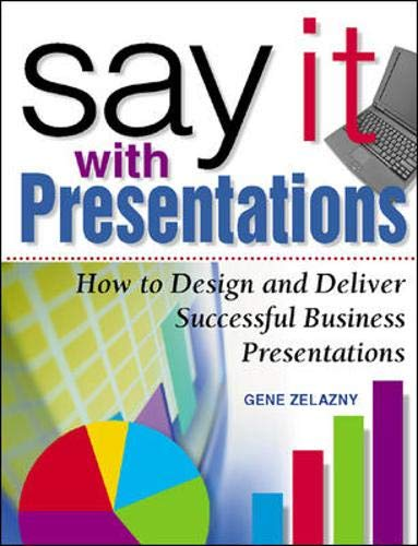 9780071354073: Say It with Presentations: How to Design and Deliver Successful Business Presentations