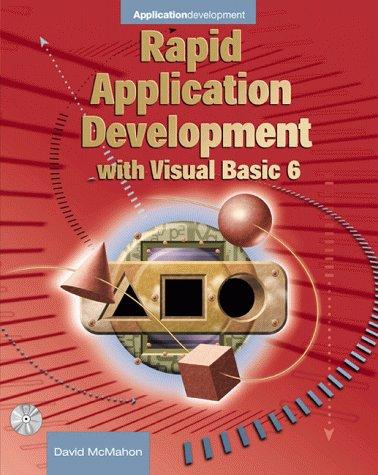 9780071354226: Rapid Application Development with Visual Basic 6