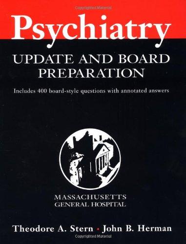 9780071354356: Massachusetts General Hospital Psychiatry Update and Board Preparation