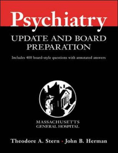 9780071354356: Massachusetts General Hospital Comprehensive Psychiatry Update and Review