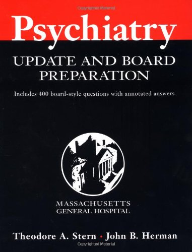 9780071354356: Massachusetts General Hospital Psychiatry Update and Board Preparation