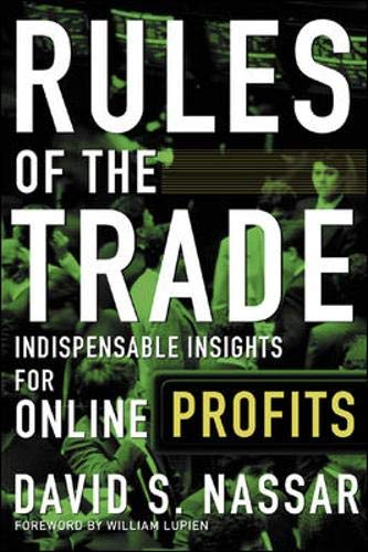 9780071354639: Rules of The Trade: Indispensable Insights for Online Profits