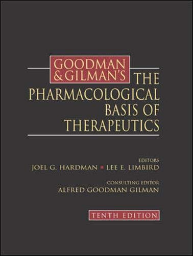 Goodman and Gilman's the Pharmacological Basis of: Alfred Goodman Gilman;