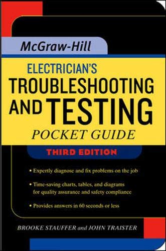 9780071354721: Electrician's Troubleshooting and Testing Pocket Guide