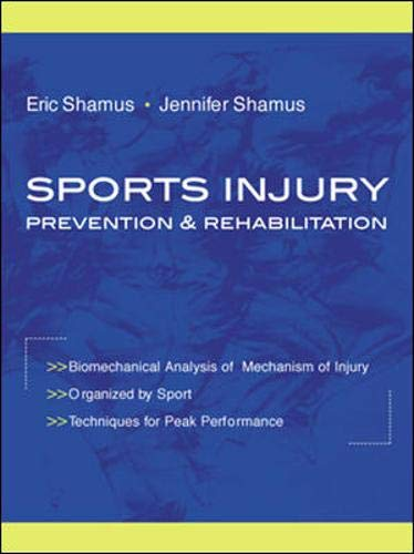 9780071354752: Sports Injury Prevention and Rehabilitation