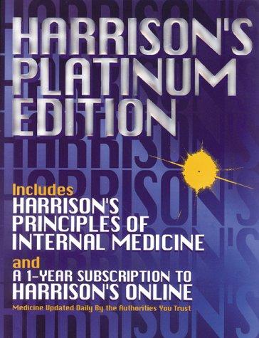 9780071354868: Harrison's Platinum Edition