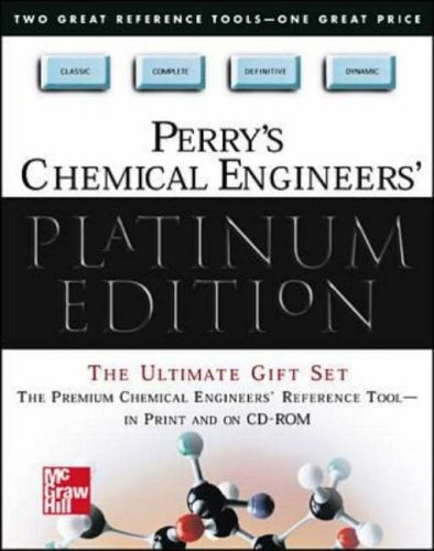 9780071355407: Perry's Chemical Engineers' Platinum Edition