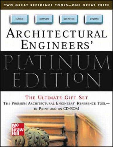 9780071355506: Standard Handbook of Architectural Engineering (Platinum Edition)