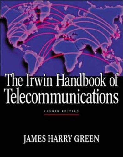 9780071355544: Irwin Handbook of Telecommunications