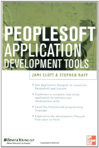 9780071355698: PeopleSoft Application Development Tools (PeopleSoft Tools)