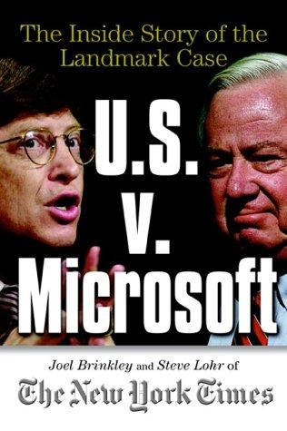 9780071355889: U.S. V. Microsoft: The Inside Story of the Landmark Case