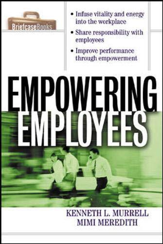 9780071356169: Empowering Employees