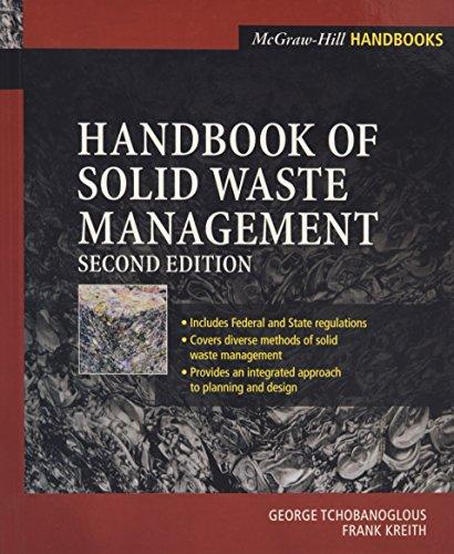 Handbook of Solid Waste Management: Frank Kreith; George