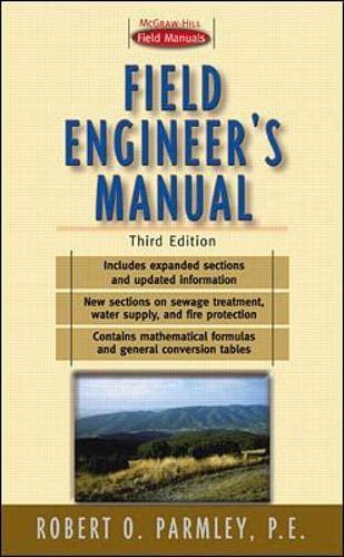 9780071356244: Field Engineer's Manual (Portable Engineering)