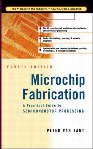9780071356367: Microchip Fabrication: A Practical Guide to Semiconductor Processing