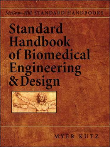 9780071356374: Standard Handbook of Biomedical Engineering & Design