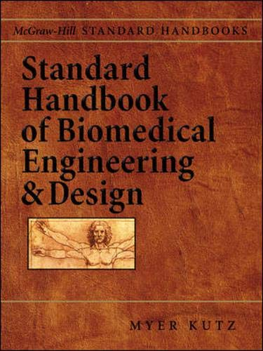 9780071356374: Standard Handbook of Biomedical Engineering & Design