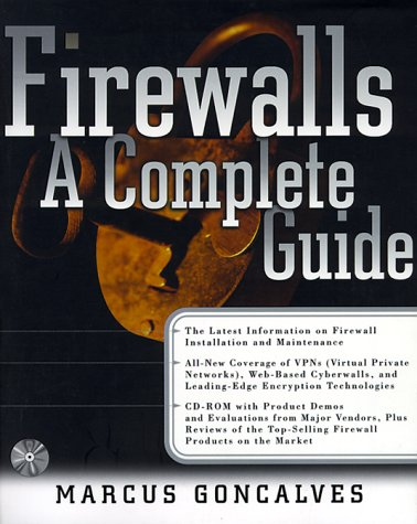 9780071356398: Firewalls: A Complete Guide