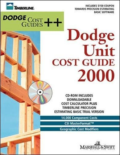 9780071356428: Unit Cost Guides 2000 (Book/CD-ROM)