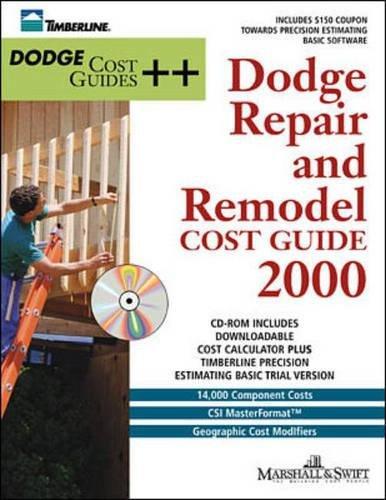 9780071356459: Dodge Repair and Remodel Cost Guide 2000