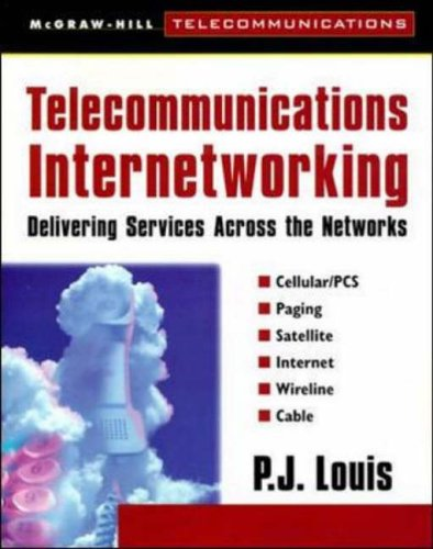 9780071356541: Telecommunications Internetworking: Delivering Services Across the Networks