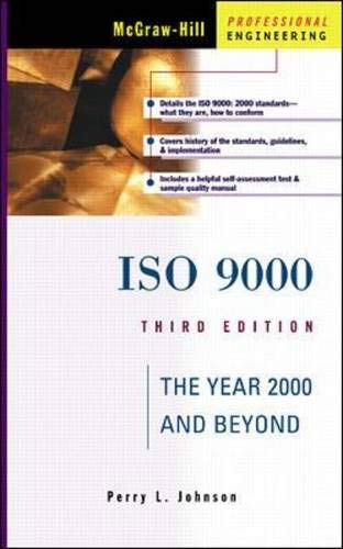 9780071356558: ISO 9000: The Year 2000 and Beyond