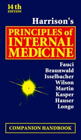 9780071356589: Harrison's Principles of Internal Medicine, Companion Handbook