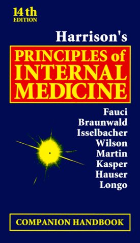 9780071356589: Harrison's Principles of Internal Medicine, Companion Handbook