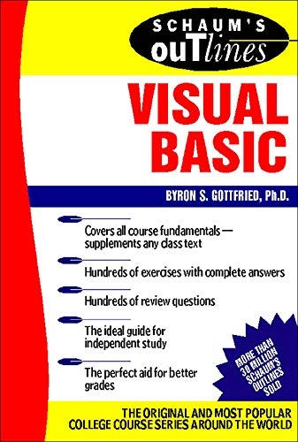 9780071356718: Schaum's Outline of Visual Basic