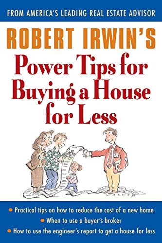 9780071356879: Robert Irwin's Power Tips for Buying a House for Less