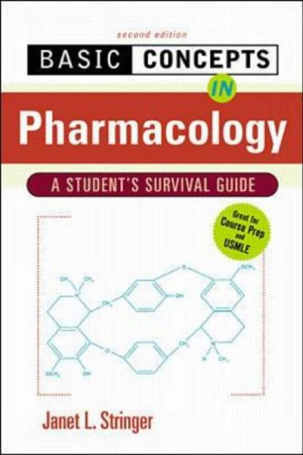 9780071356992: Basic Concepts in Pharmacology: A Student's Survival Guide