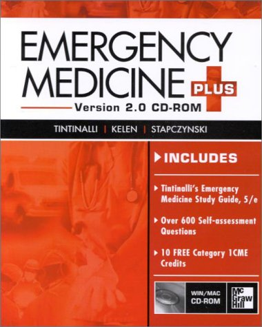 9780071357111: Emergency Medicine Plus (CD-ROM 2.0, for Windows & Macintosh, Individual Version)