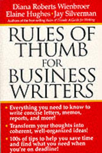 9780071357210: Rules of Thumb for Business Writers