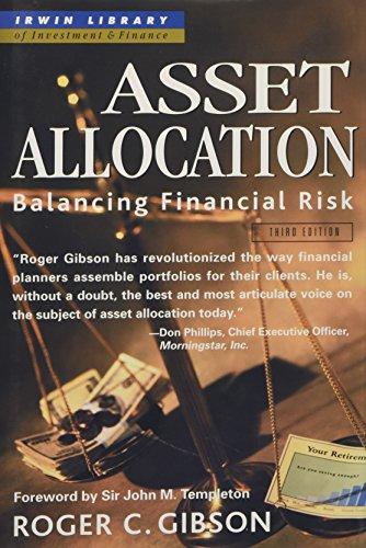 9780071357241: Asset Allocation: Balancing Financial Risk