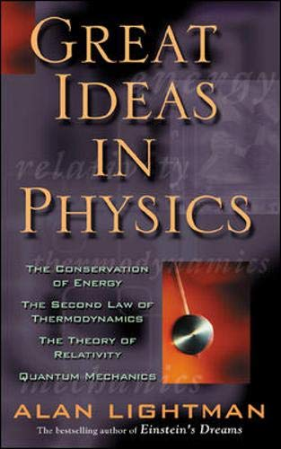 9780071357388: Great Ideas in Physics: The Conservation of Energy, the Second Law of Thermodynamics, the Theory of Relativity, and Quantum Mechanics