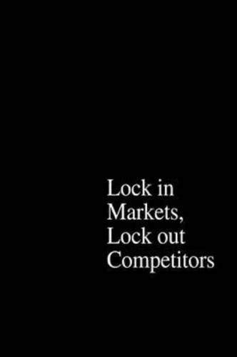 9780071357777: The Power of Strategic Thinking: Lock In Markets, Lock Out Competitors